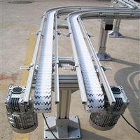 齒形鏈雙列S型輸送機