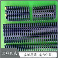 突肋網帶加擋板PP PE POM材質27.2節距