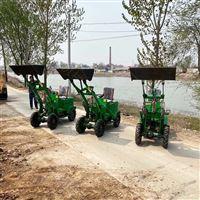 電動小型裝載機  新疆養殖場用電動鏟車
